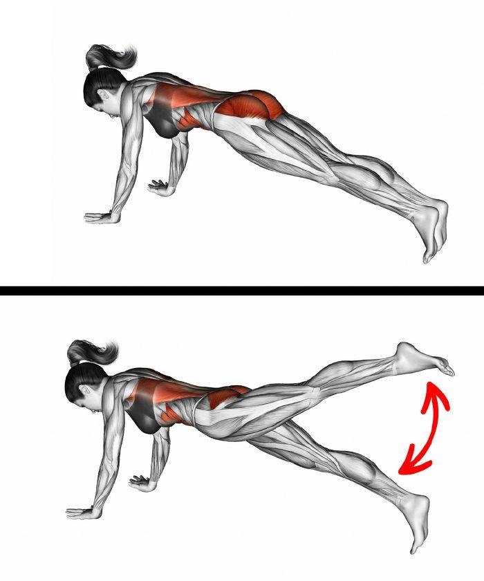 gyakorlatok a karcsú has és a derék gyors edzésére
